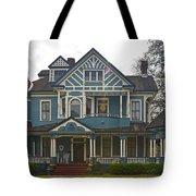 Blue Bainbridge Beauty Tote Bag