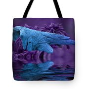 Blue Baptism Tote Bag
