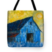 Blue Barn Number One Tote Bag