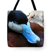Blue Beak Tote Bag