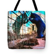 Blue Bear Convention Center 5214 Tote Bag