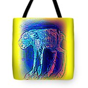 The Blue Beast Inside Of Me Is Waiting For You  Tote Bag