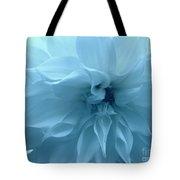 Blue Beauty - Dahlia Tote Bag