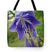 Blue Bell Flower Tote Bag