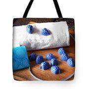 Blue Berries Mini Soaps Tote Bag