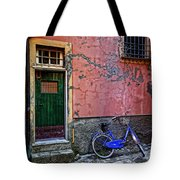 Blue Bicycle Monterosso Italy Dsc02592  Tote Bag