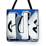 Blue Blood Buds Tote Bag
