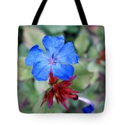 Blue Bloom Tote Bag