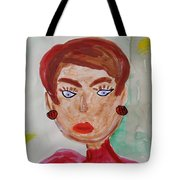 Blue Blue Eyes Tote Bag