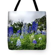 Blue Bonnet Carpet V9 Tote Bag