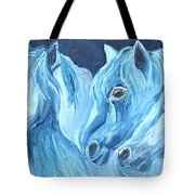Blue Boyz Tote Bag