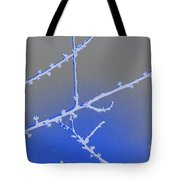 Blue Branches 2 Tote Bag