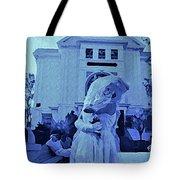 Blue Bride Tote Bag