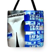 Blue Briefs Tote Bag