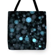 Blue Bubbles Tote Bag