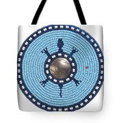 Blue Buffalo Turtle Tote Bag
