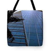 Blue Business Tote Bag