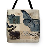 Blue Butterfly - J118118115-01a Tote Bag
