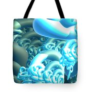 Blue Byte Tote Bag