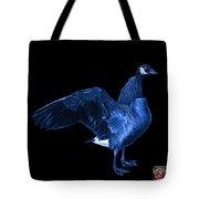 Blue Canada Goose Pop Art - 7585 - Bb  Tote Bag