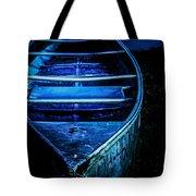 Blue Canoe Tote Bag