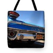 Blue Car Bumper Havana Tote Bag