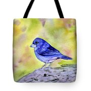 Blue Chaffinch Tote Bag