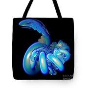Blue Charmer Tote Bag