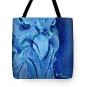Blue Chicken Tote Bag