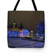 Blue Christmas.. Tote Bag