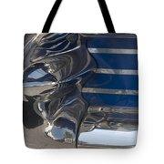 Blue Chrome Tote Bag