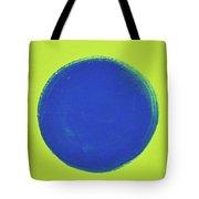 Blue Circ Tote Bag