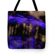 Blue Cliff Tote Bag