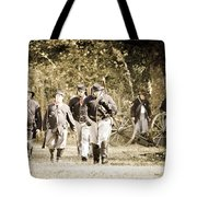 Blue Coats Tote Bag