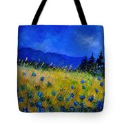 Blue Conflowers 454150 Tote Bag