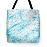 Blue Crayon Tote Bag