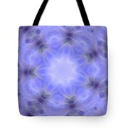 Blue Crystallized 1  Tote Bag