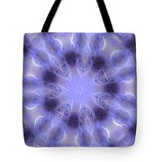 Blue Crystallized 2  Tote Bag