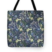 Blue Daisies Design Tote Bag