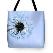 Blue Dandelion Tote Bag