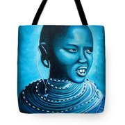 Blue Day Tote Bag