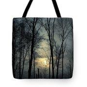 Blue Daybreak Tote Bag