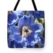 Blue Delphinium 9655 Tote Bag