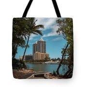 Blue Diamond Condos Miami Beach Tote Bag