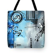 Blue Divinity By Madart Tote Bag