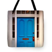 Blue Door 19 Tote Bag