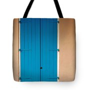 Blue Door In New Orleans Tote Bag