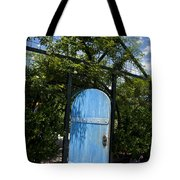 Blue Door To Childrens Garden Huntington Library Tote Bag
