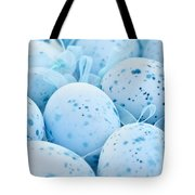 Blue Easter Eggs Tote Bag