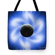 Blue Eclipse Tote Bag